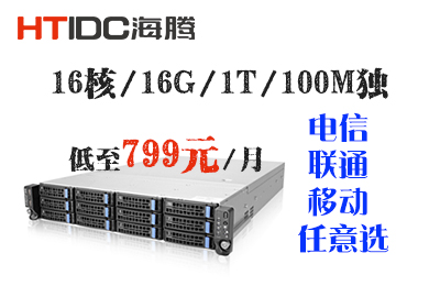 百兆服务器租用,100M独服务器