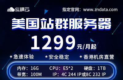 美国站群服务器多ip258ip美国vps